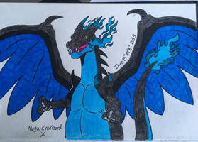 Mega Charizard , Biatch! by XenoTeeth3