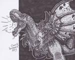 Dragon vs T.rex 2.0