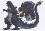 Godzilla (XT3Goji) by XenoTeeth3