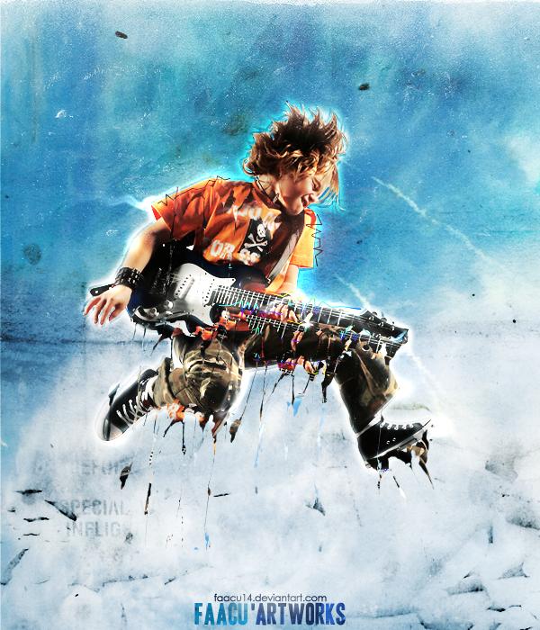 Music - Guitar boy by faacu14