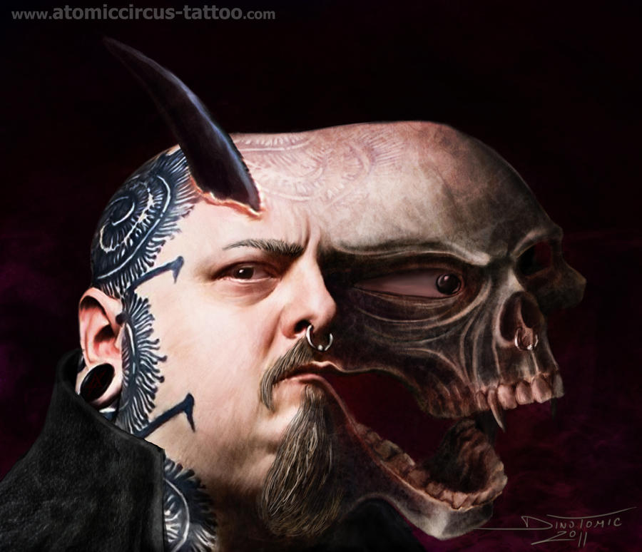 Paul booth by atomiccircus on deviantart for Paul booth tattoo artist