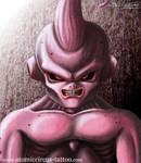 Kid Buu from Dragonball