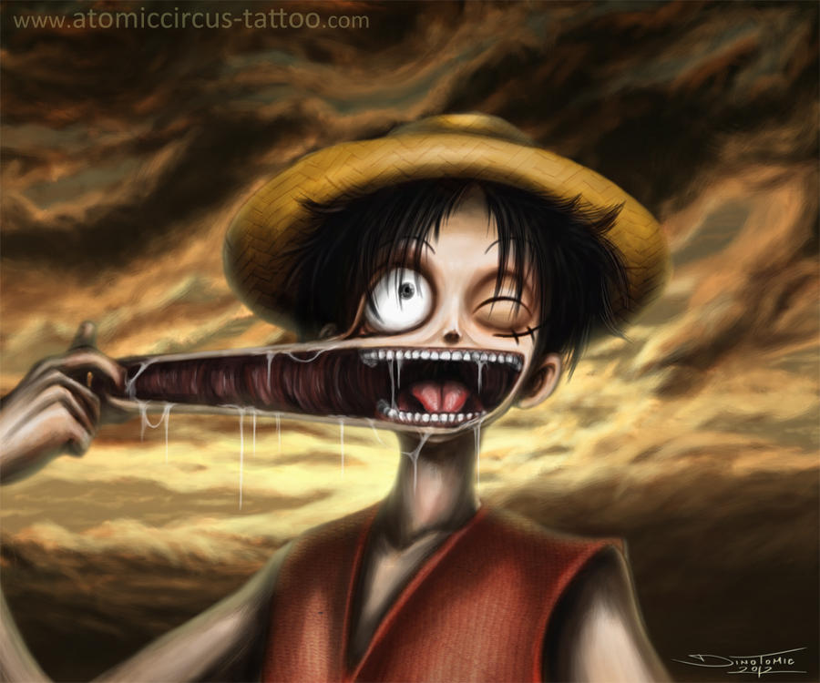 One Piece Luffy Wallpaper: Luffy From One Piece By AtomiccircuS On DeviantArt