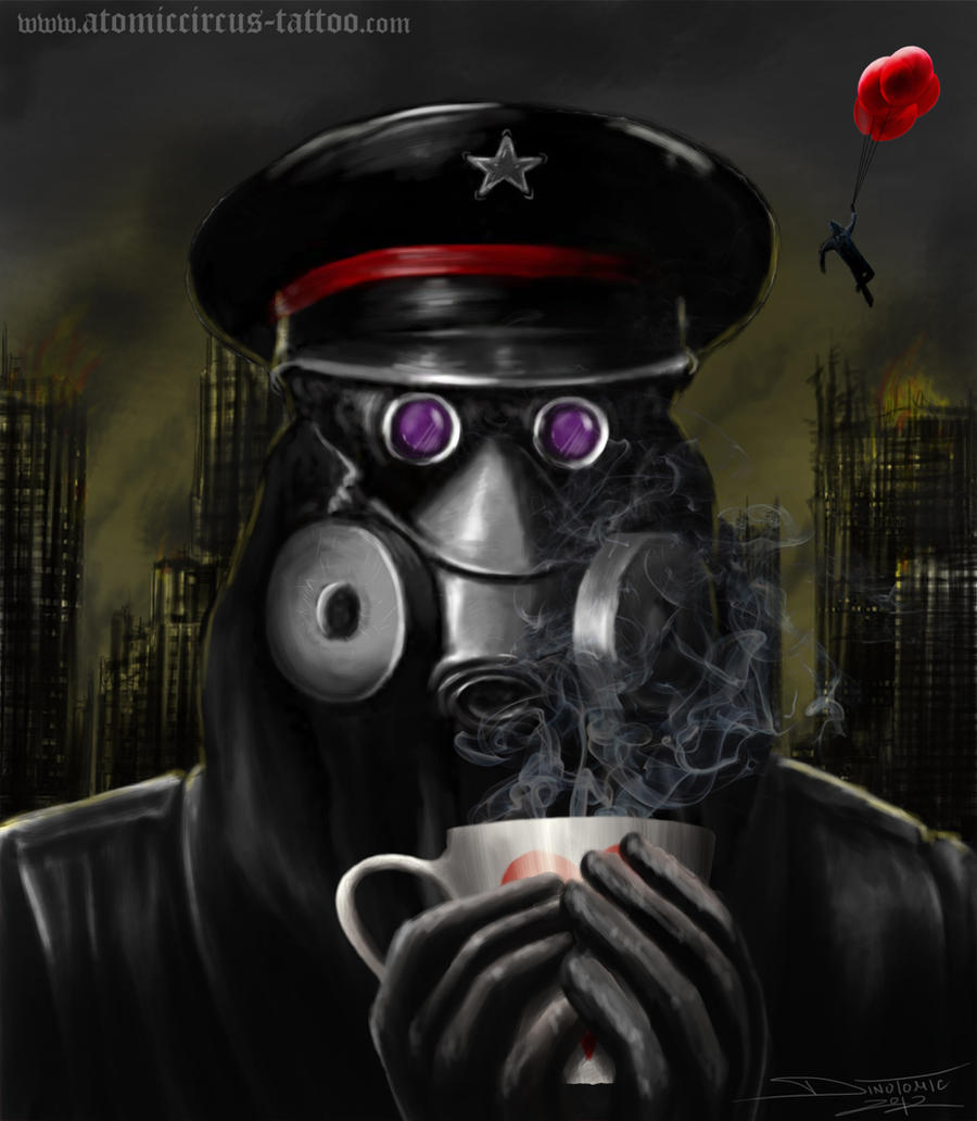 Captain from ROMANTICALLY APOCALYPTIC by AtomiccircuS