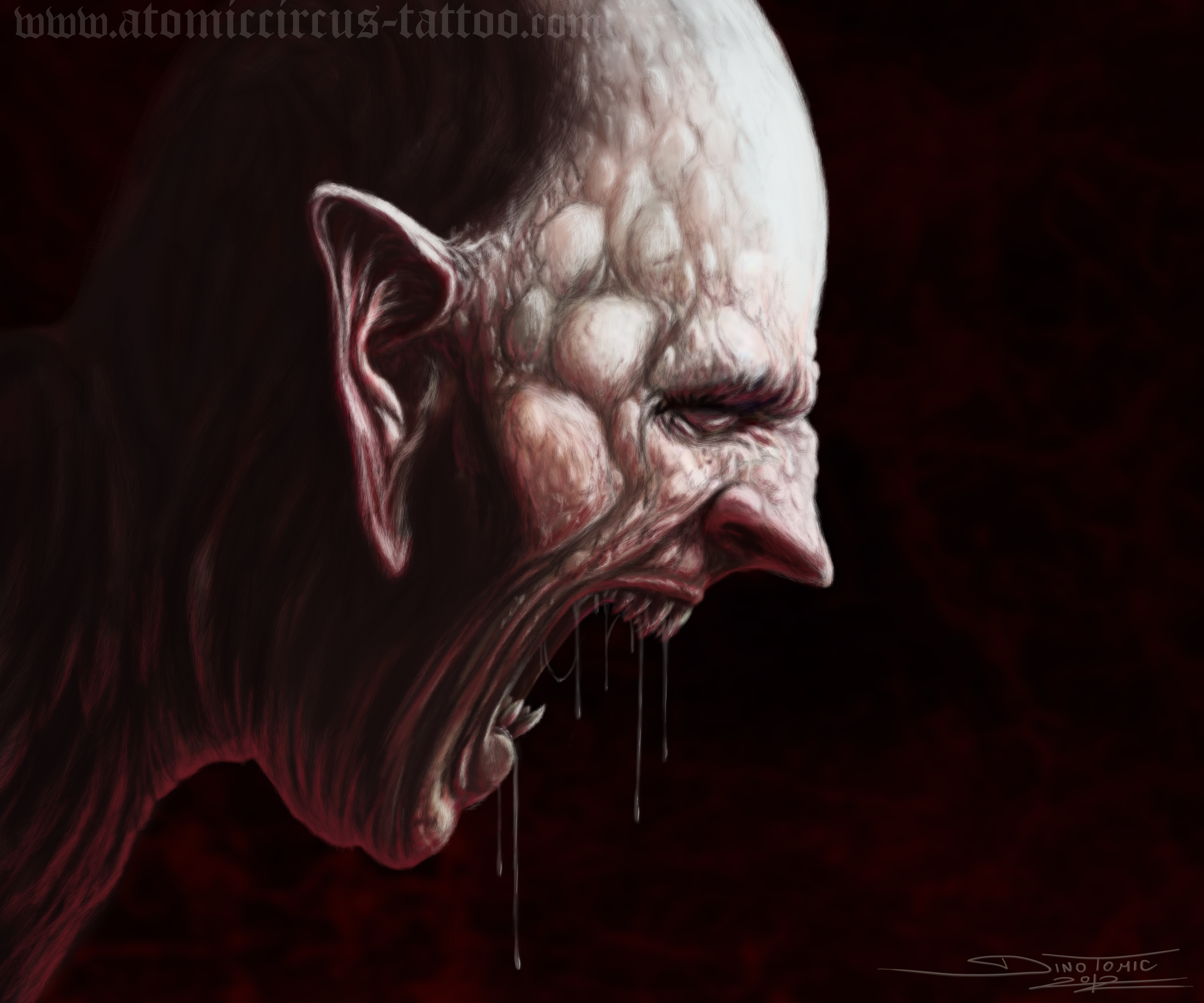 Demon Face By AtomiccircuS On DeviantArt