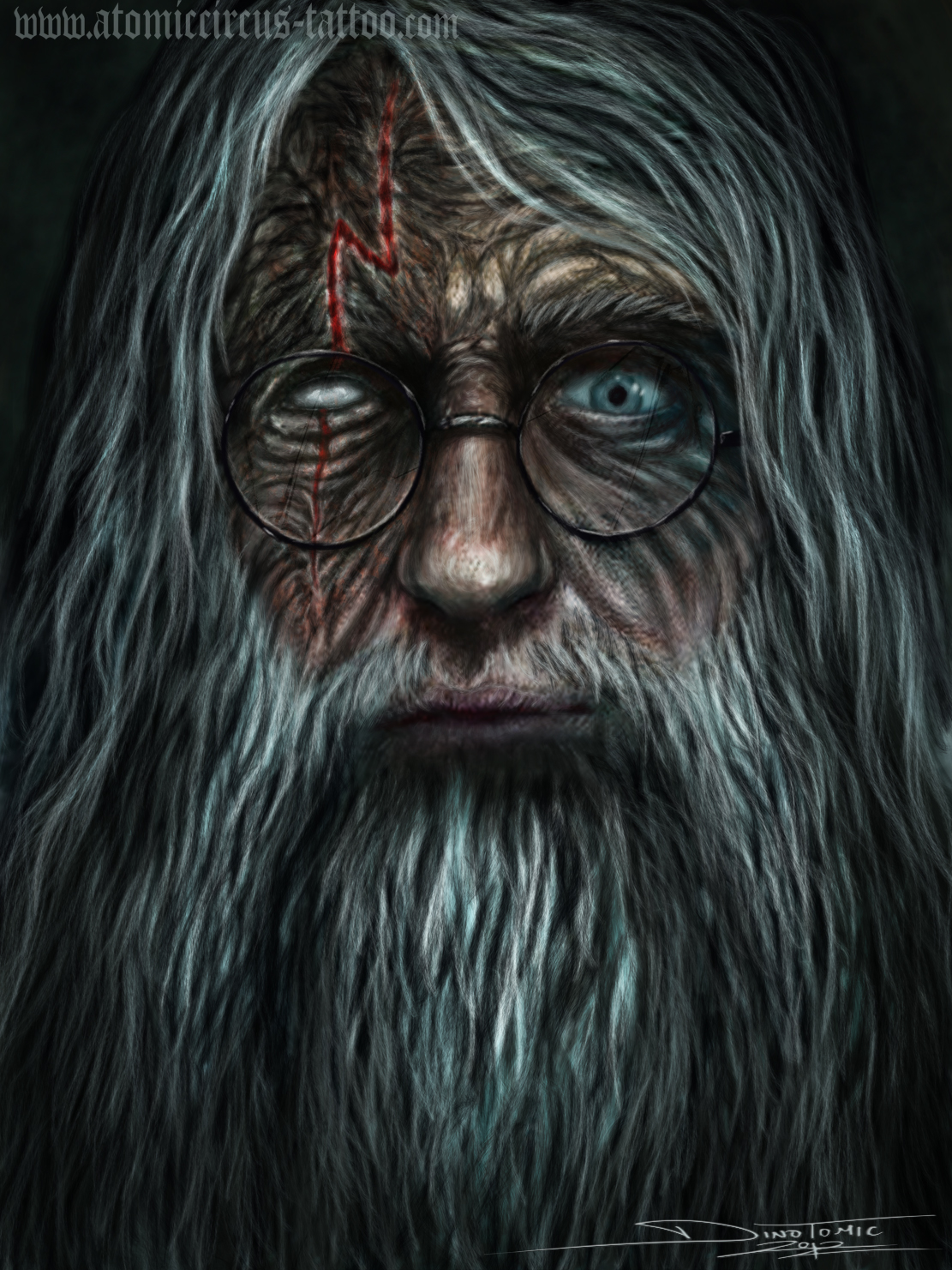 Old Harry Potter By Atomiccircus On Deviantart