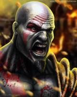 Kratos by AtomiccircuS
