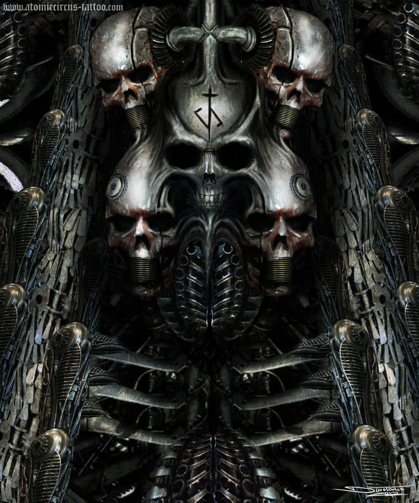 H.R Giger inspired painting by AtomiccircuS on DeviantArt H.r. Giger Wallpaper