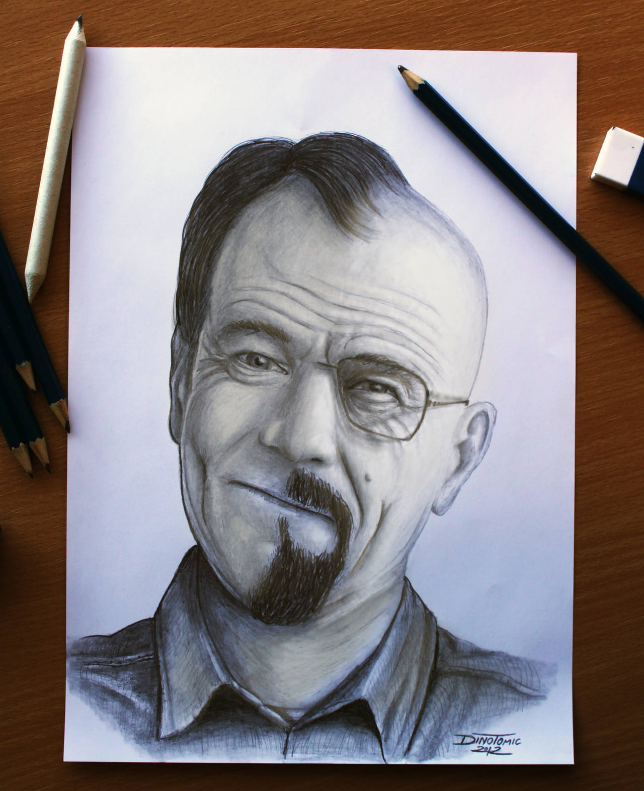 Breaking Bad : Walter White by AtomiccircuS