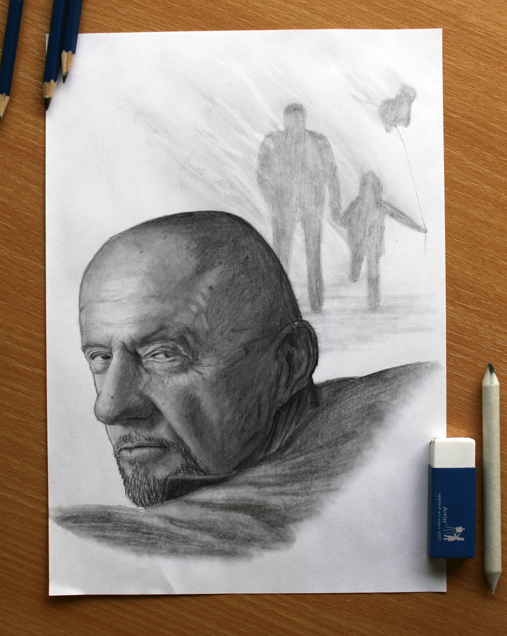 Breaking Bad : Mike Ehrmantraut by AtomiccircuS