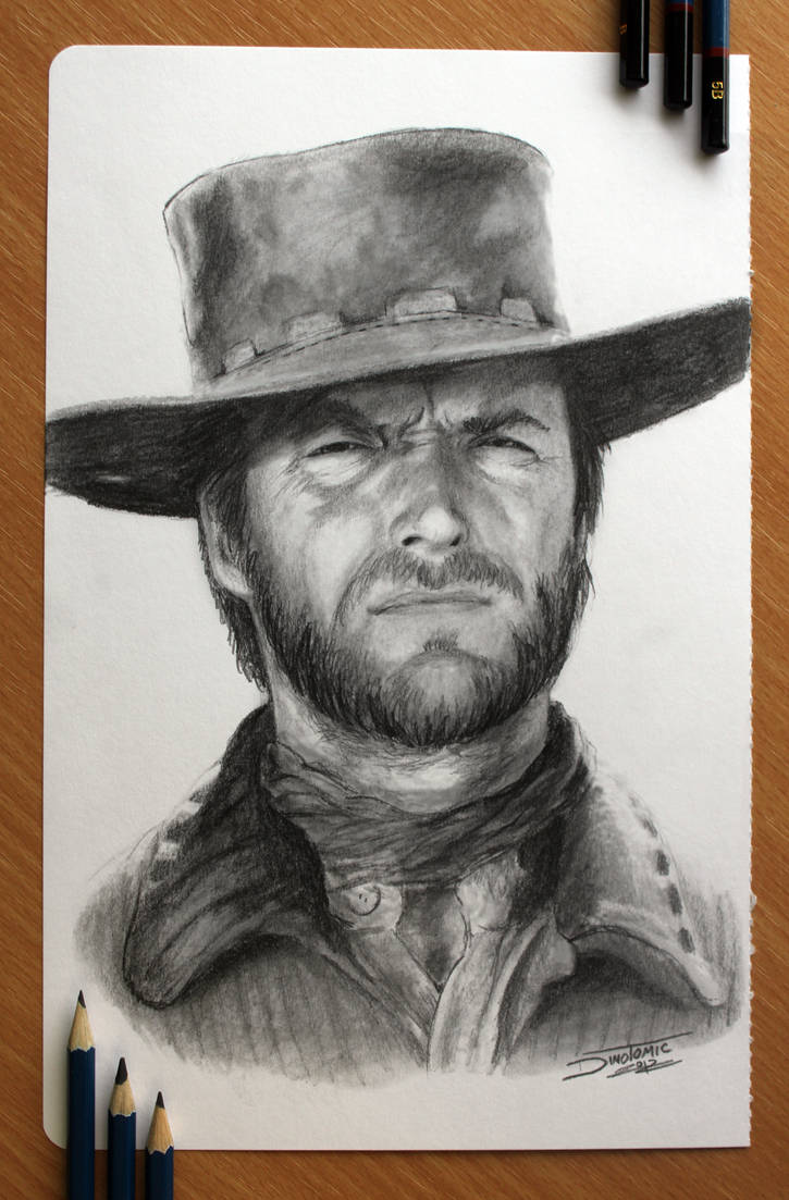 Clint Eastwood by AtomiccircuS
