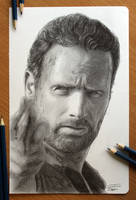 The Walking Dead : Rick by AtomiccircuS