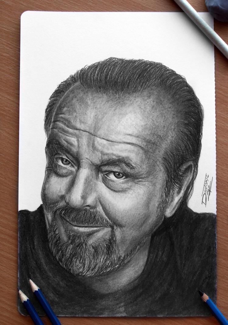 Jack Nicholson by AtomiccircuS