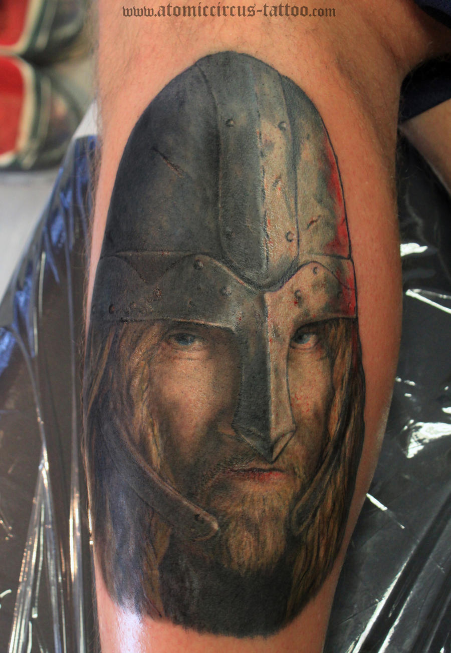 Viking tattoo by atomiccircus on deviantart for Did vikings have tattoos