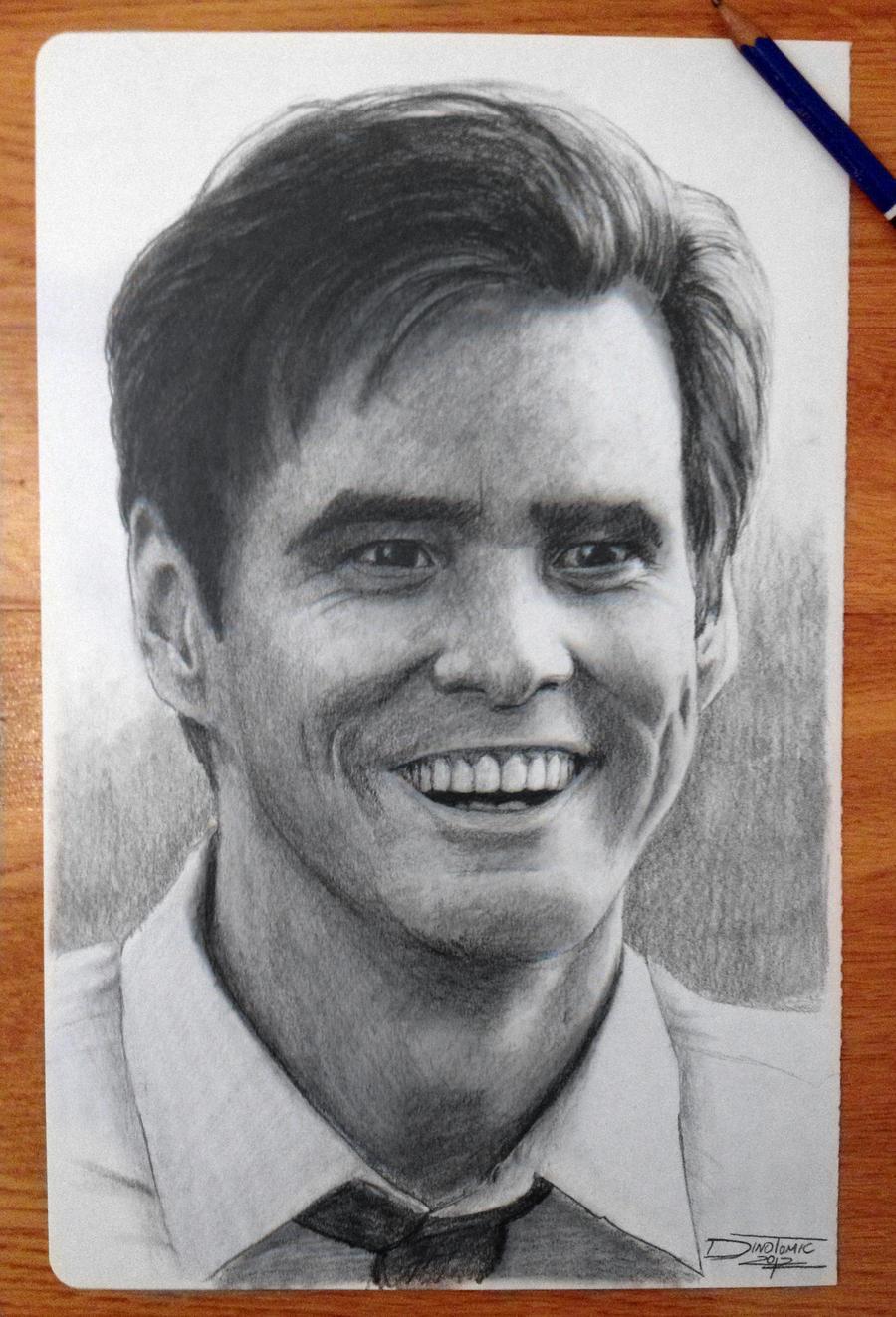 Jim Carrey by AtomiccircuS
