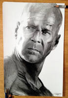 Bruce Willis by AtomiccircuS