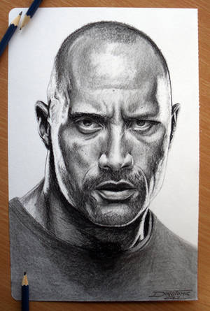 The Rock by AtomiccircuS