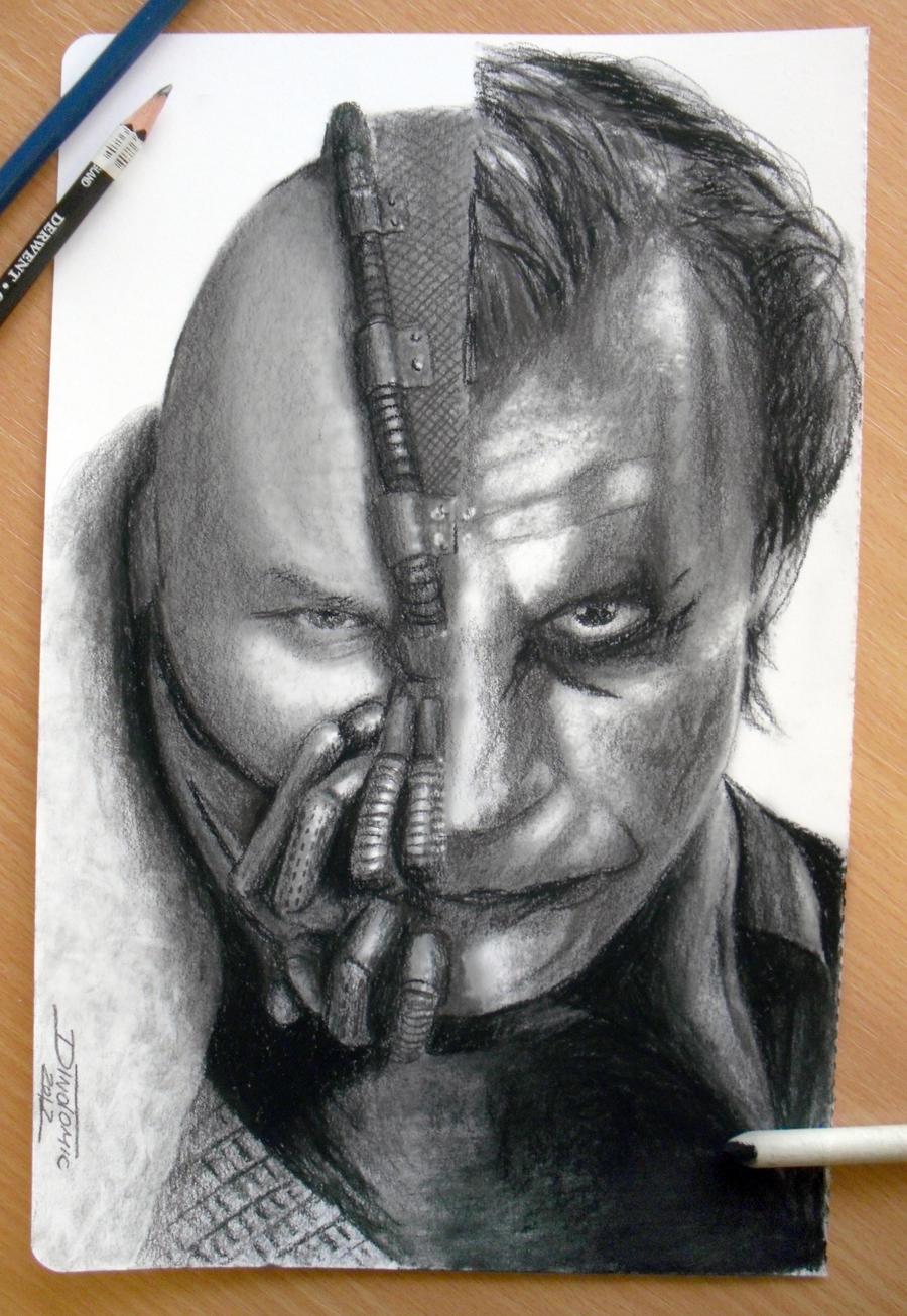 Bane / Joker by AtomiccircuS