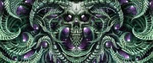 Bio skull panorama