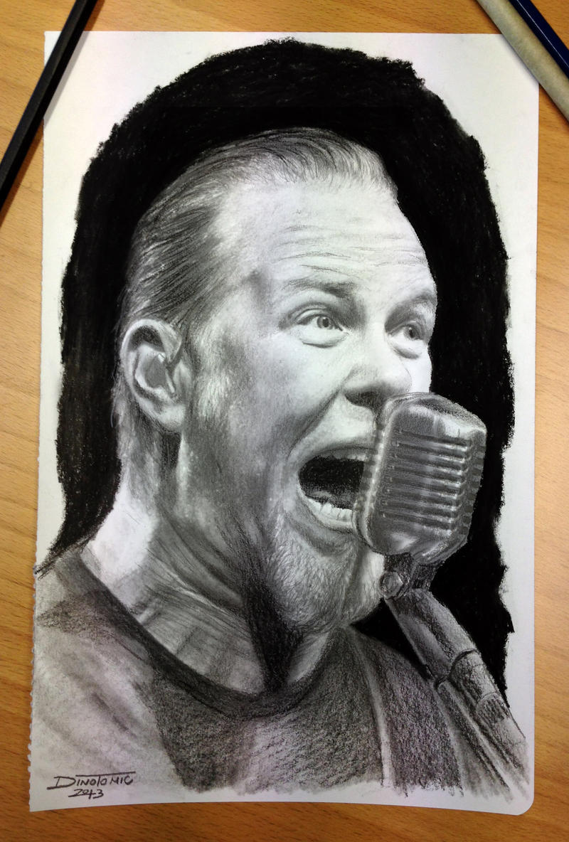 James Hetfield by AtomiccircuS