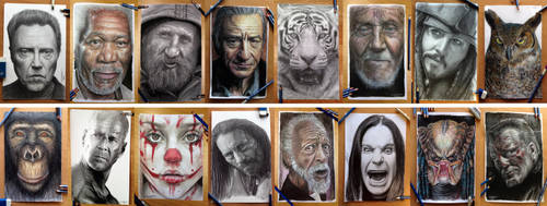 Some of my fav drawings =) by AtomiccircuS