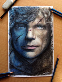 Tyrion Lanni Color Pencil Drawing / Game of Throne