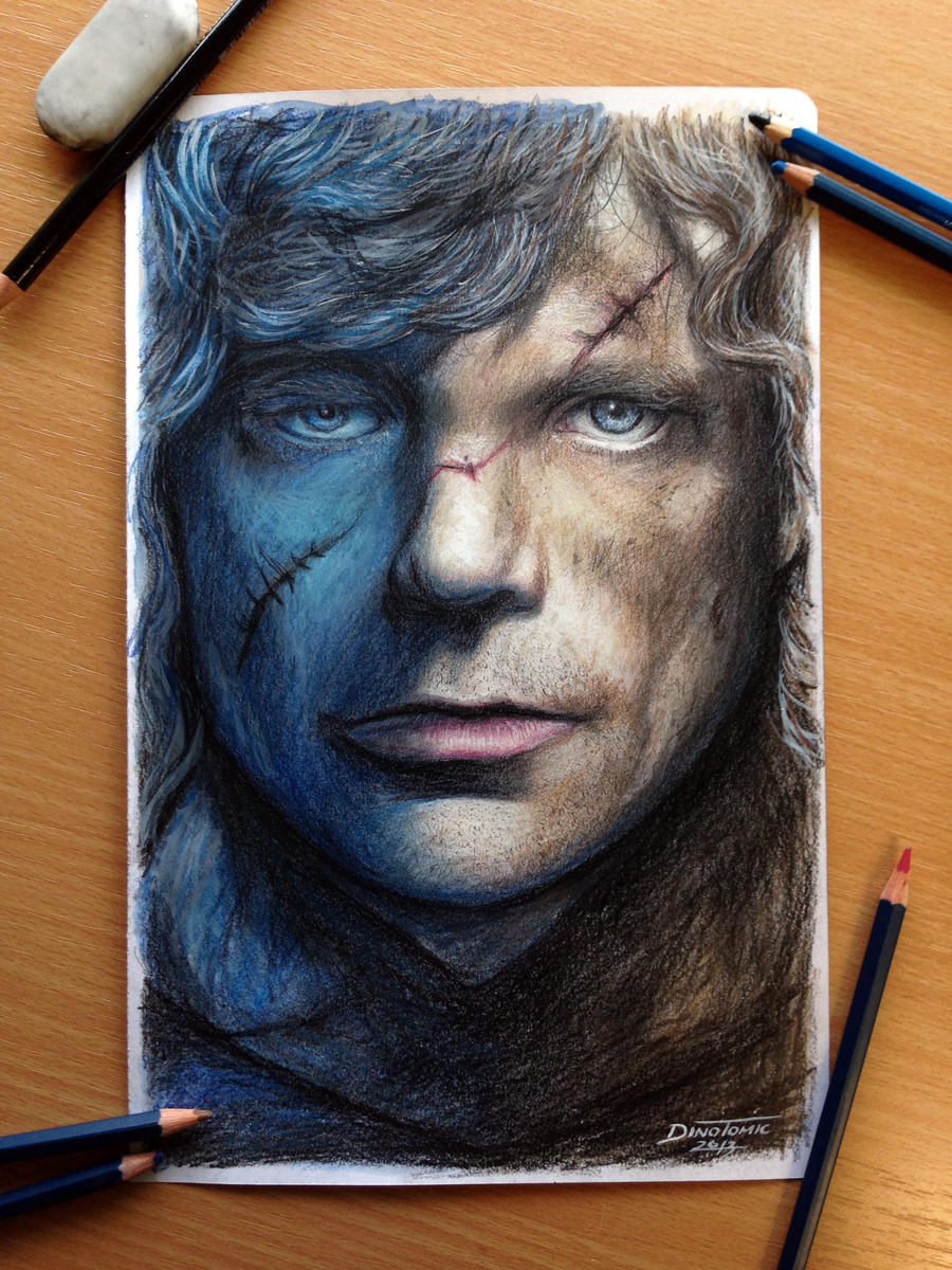 Tyrion Lanni Color Pencil Drawing / Game of Throne by AtomiccircuS on ...