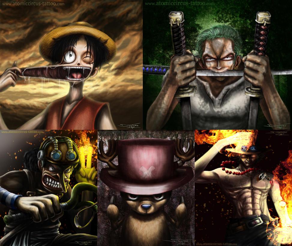 My One Piece digital fan art by AtomiccircuS on DeviantArt