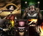 My One Piece digital fan art