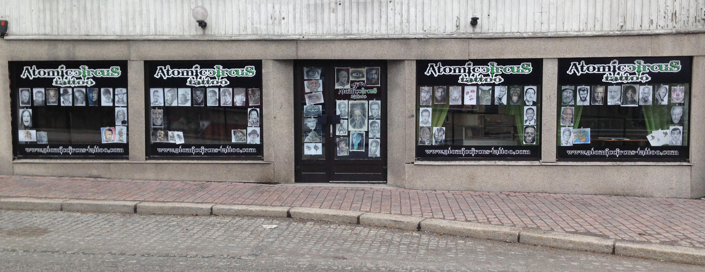 My tattoo shop by AtomiccircuS