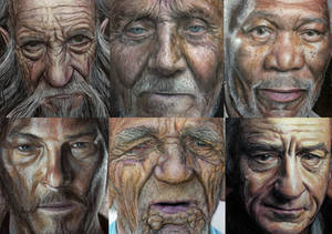 Color pencil drawings ( close up )