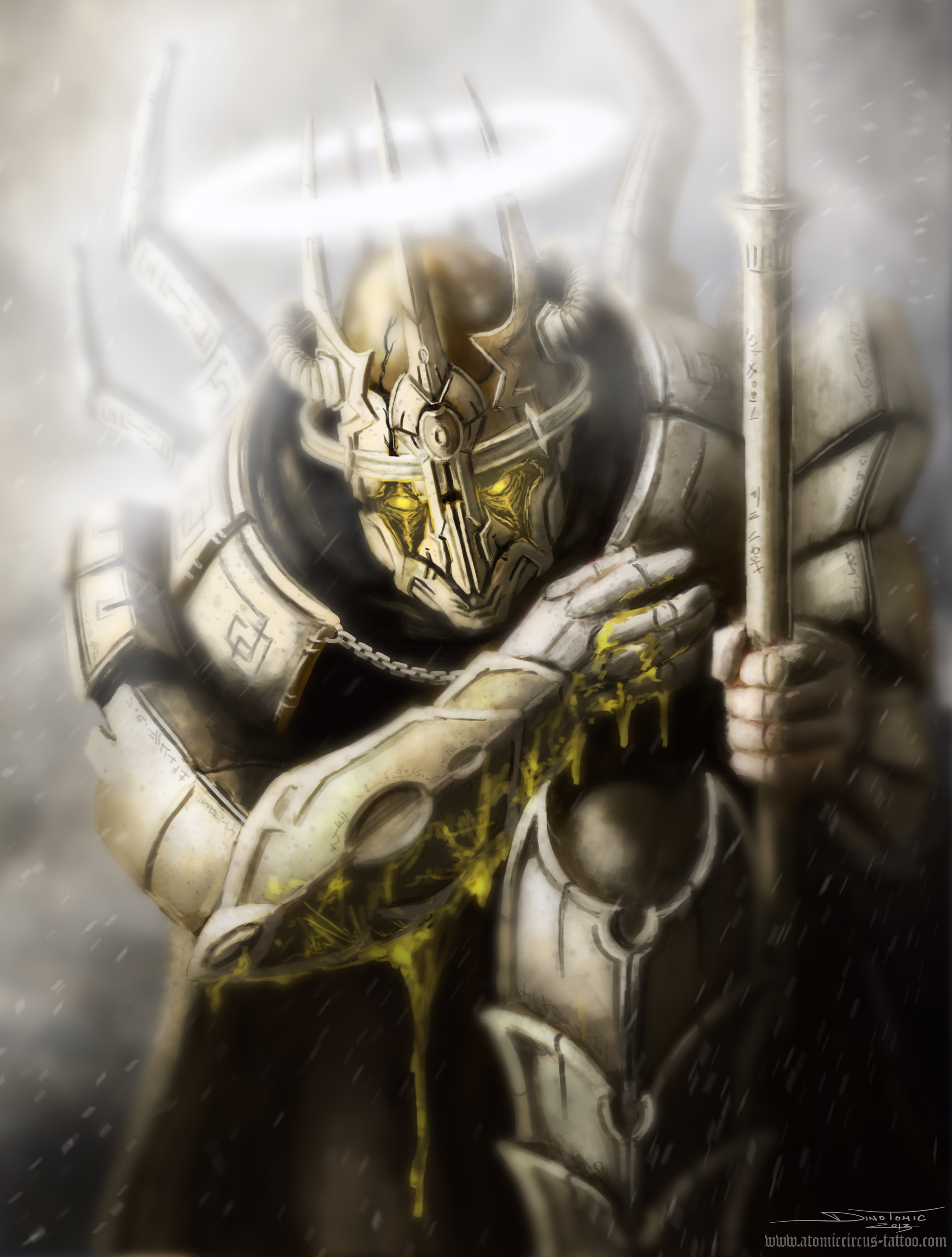 Dragonborn Paladin By Atomiccircus On Deviantart