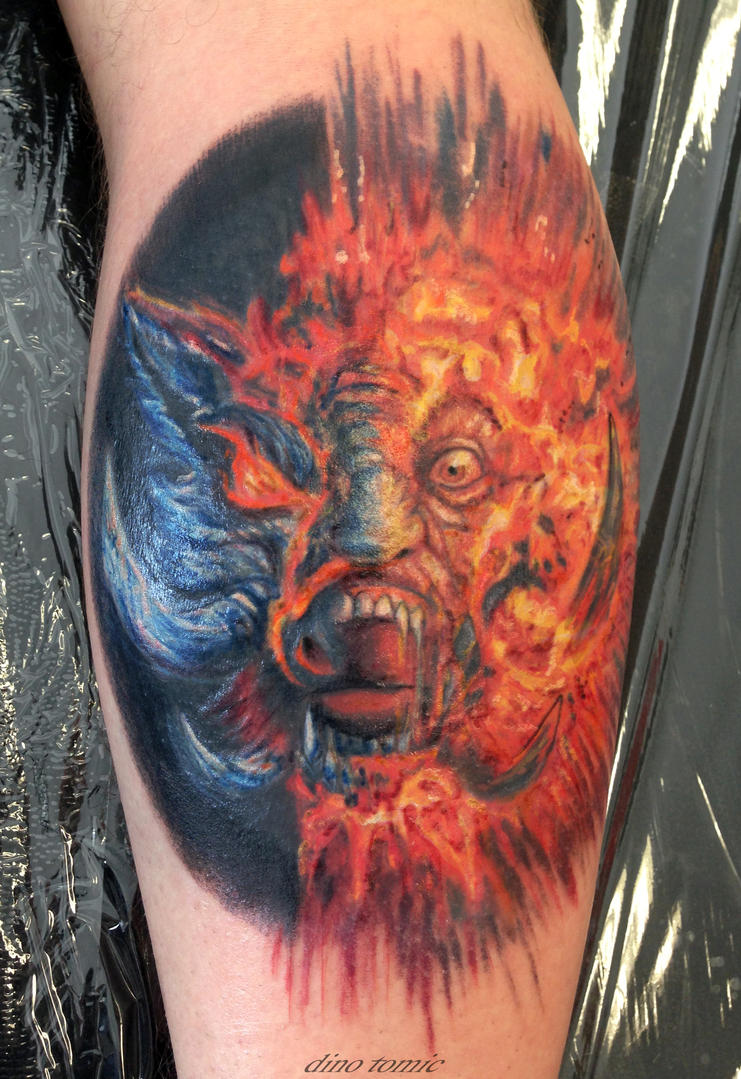 The Wildhearts album cover tattoo by AtomiccircuS