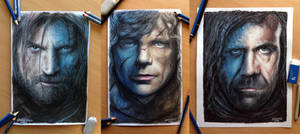 My Game of Thrones Portraits