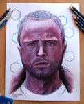 My pencil drawing of Jesse Pinkman