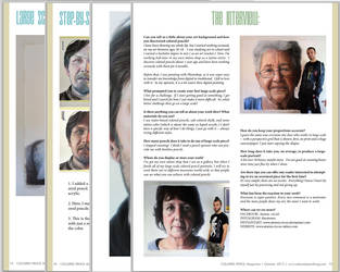 Interview with Colored Pencil Magazine