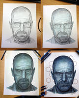 Walter White small Process by AtomiccircuS