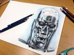 T-800 Pencil Drawing