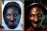My Freddy Pencil and Digital drawing