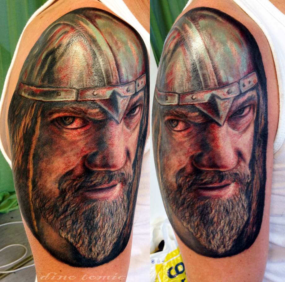 Viking tattoo by AtomiccircuS on DeviantArt