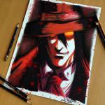 Alucard Pencil Drawing