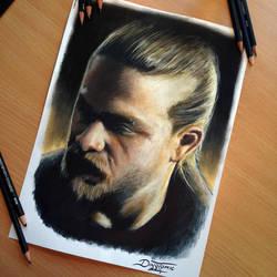 Jax Teller Pencil Drawing