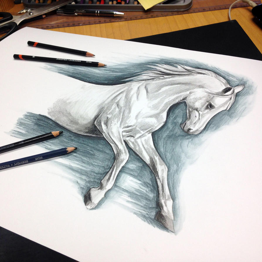 Horse Drawing Teaser by AtomiccircuS