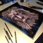 Gandalf second drawing Teaser