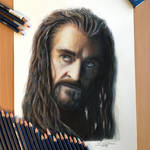 Thorin Color Pencil Drawing
