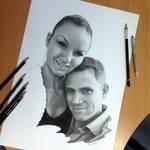 Pencil Portraits of my Friends