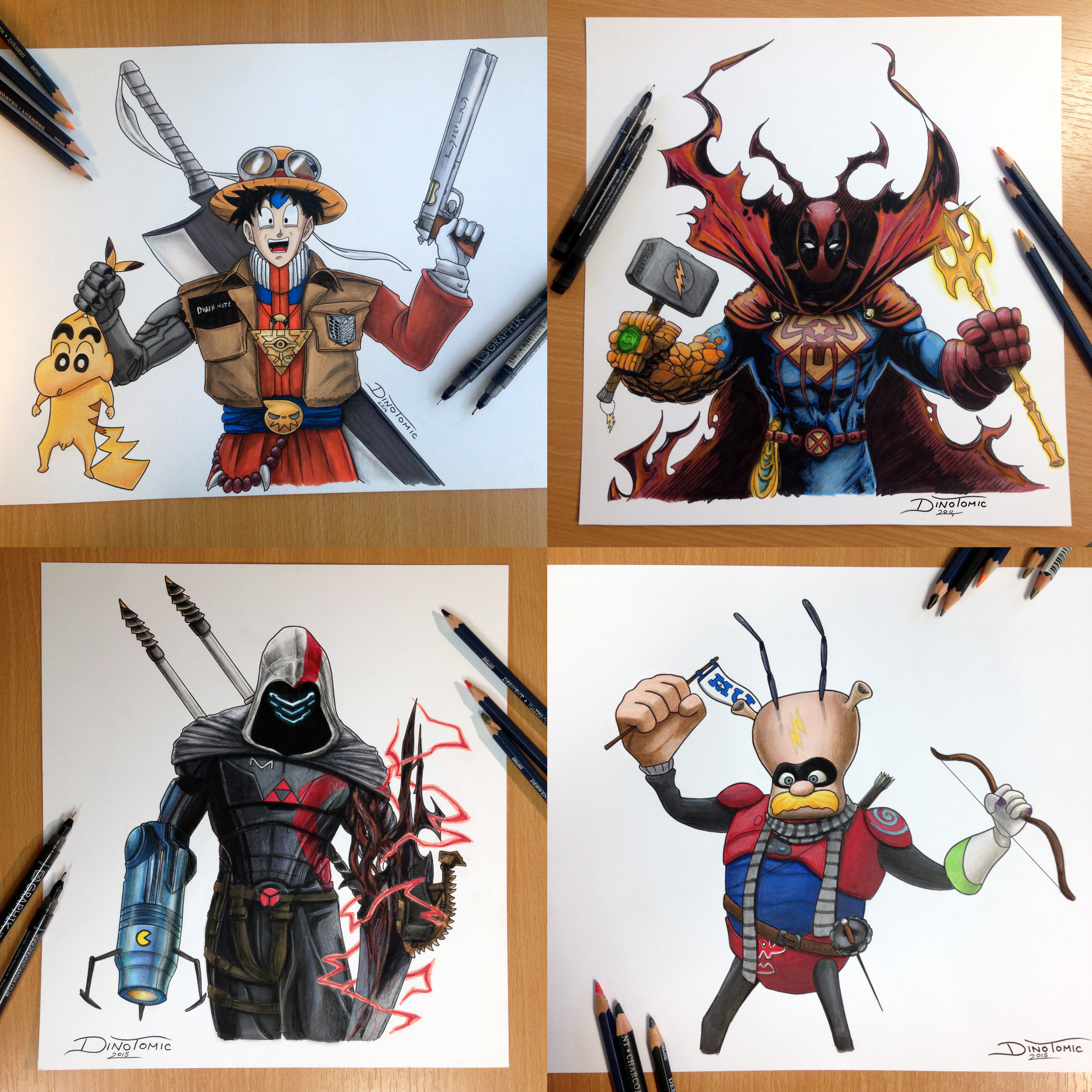 Mash up characters by atomiccircus mash up characters by atomiccircus