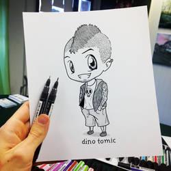 Quick Chibi Sketch by AtomiccircuS
