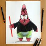 Darth Patrick Pencil Drawing