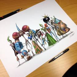 One Piece Creepy Drawing